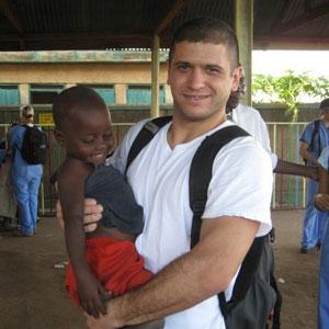 Dr. Chris Balsly Volunteering